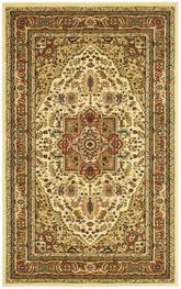 Safavieh Lyndhurst LNH330R Ivory and Rust