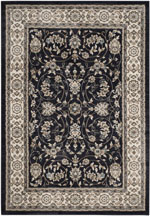 Safavieh Lyndhurst LNH340D Anthracite and Cream