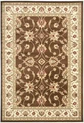 Safavieh Lyndhurst LNH553-2512 Brown and Ivory