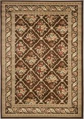 Safavieh Lyndhurst LNH556-2525 Brown and Brown