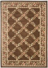 Safavieh Lyndhurst LNH557-2525 Brown and Brown