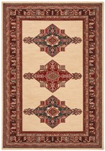 Safavieh Mahal MAH628A Creme and Red