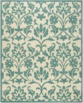 Safavieh Modern Art MDA635A Ivory and Light Blue