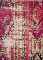 Safavieh Monaco MNC222D Magenta and Multi