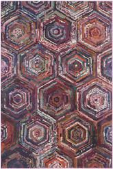 Safavieh Monaco Mnc209h Orange And Multi Area Rug Free