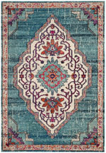 Safavieh Monaco MNC254J Blue and Multi