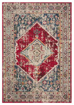 Safavieh Monaco MNC257A Ivory and Red