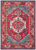 Safavieh Monaco MNCB207C Red and Turquoise