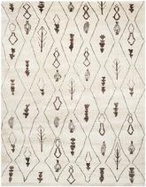 Safavieh Moroccan MOR331A Beige and Brown