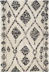 Safavieh Moroccan MOR553A Ivory and Black