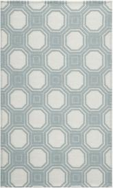Safavieh Martha Stewart MSR2554B Vermont Ivory and Light Blue