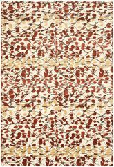 Safavieh Martha Stewart MSR8641B Abstract Trellis Bard Red