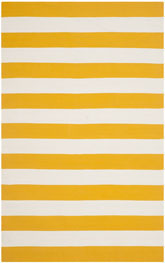 Safavieh Montauk MTK712A Yellow and White