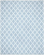 Safavieh Montauk MTK810B Light Blue and Ivory