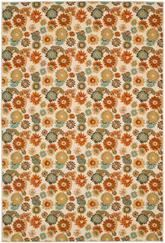 Safavieh Martha Stewart MTP523-1391 Peony Damask Light Brown