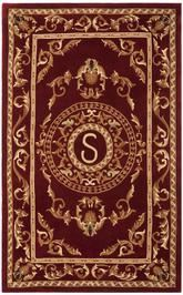Safavieh Naples NA519S Burgundy