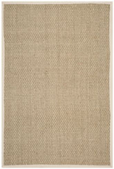 Safavieh Natural Fiber NF114J Natural and Ivory