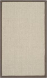 Safavieh Natural Fiber NF441F Taupe and Light Brown