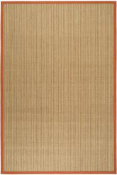 Safavieh Natural Fiber NF442B Rust and Rust
