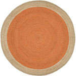 Safavieh Natural Fiber NF801B Orange and Natural