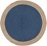 Safavieh Natural Fiber NF801D Royal Blue and Natural