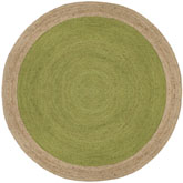 Safavieh Natural Fiber NF801G Green and Natural