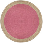 Safavieh Natural Fiber NF801P Pink and Natural