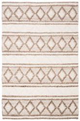 Safavieh Natural Fiber NF866B Taupe and Ivory