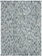 Safavieh Natural Fiber NF869M Blue and Ivory