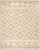 Safavieh Natural Fiber NF880B Natural and Ivory