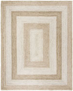 Safavieh Natural Fiber NF884F Grey and Ivory