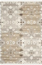 Safavieh Natural Kilim NKM318A Grey and Multi