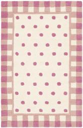 Safavieh Novelty NOV411A Ivory and Pink