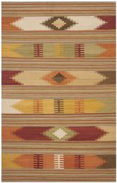 Safavieh Navajo Kilim NVK177A Red and Multi
