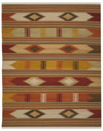 Safavieh Kilim NVK177A Red and Multi