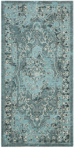 Safavieh Palazzo PAL12856C4 Turquoise and Black