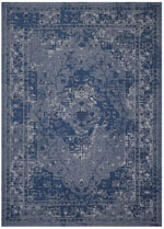Safavieh Palazzo PAL1287970 Blue and Light Grey