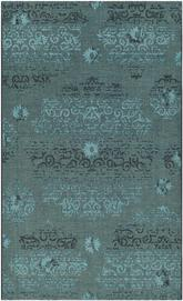 Safavieh Palazzo PAL129-56C4 Black and Turquoise