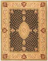 Safavieh Persian Court PC172A Black and Beige