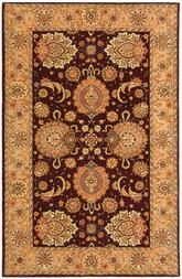 Safavieh Persian Court PC413C Burgundy and Beige