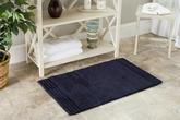 Safavieh Plush Master Bath PMB621B Navy and Navy