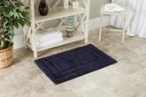 Safavieh Plush Master Bath PMB627B Navy and Navy