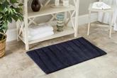 Safavieh Plush Master Bath PMB629B Navy and Navy