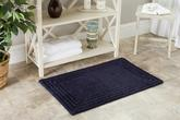Safavieh Plush Master Bath PMB631B Navy and Navy