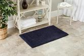 Safavieh Plush Master Bath PMB637B Navy and Navy