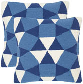 ABSTRACT PUZZLE OUTDOOR PILLOW