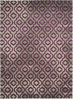Safavieh Porcello PRL7734B Light Grey and Purple