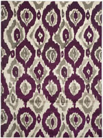 Safavieh Porcello PRL7736B Ivory and Purple