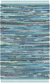 Safavieh Rag Rug RAR121B Blue and Multi