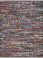 Safavieh Rag Rug RAR121E Rust and Multi